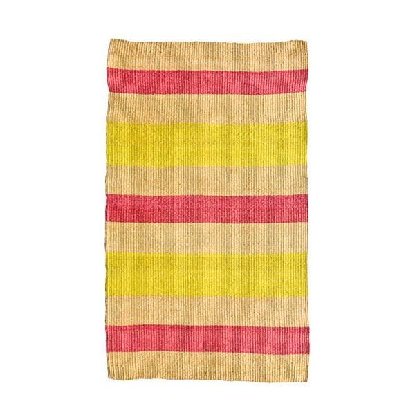Colourful Kenyan Sisal Floor Rug