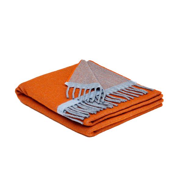 Orange Donegal Cashmere Wrap