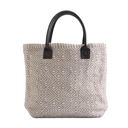 Recycled Plastic Bottle Handwoven Provence Dormouse Tote Bag