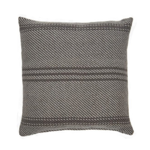 Recycled Plastic Bottle Weavergreen Tabby Oxford Striped Cushion