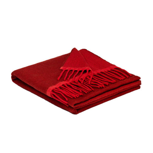 Red Donegal Cashmere Wrap