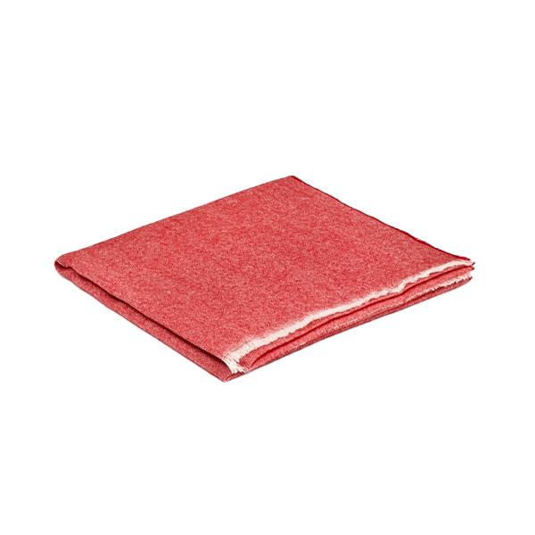 Red Fuschia Paris Cashmere and Merino Wool Lightweight Scarf