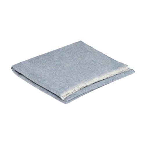 Smoke Cashmere and Merino Wool Spring/Summer Scarf