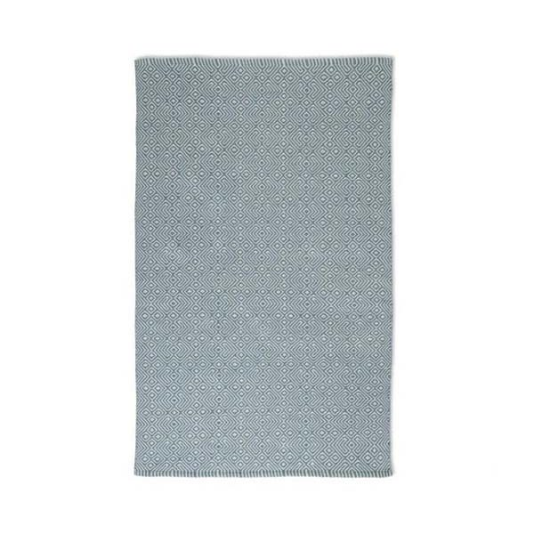 Recycled Plastic Bottle Teal Provence Floor Rug