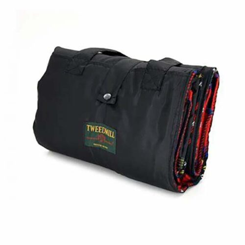 tweedmill royalstewart picnic rug closed