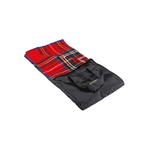 Waterproof Backed Royal Stewart Wool Picnic Rug