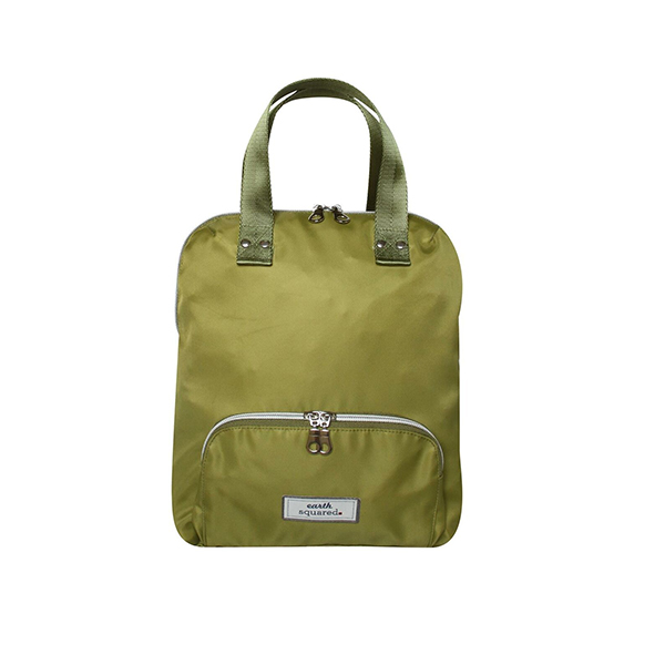 Voyage Canvas Mini Green Backpack