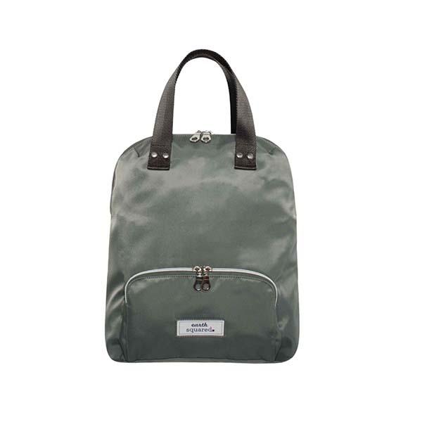 Voyage Canvas Mini Grey Backpack