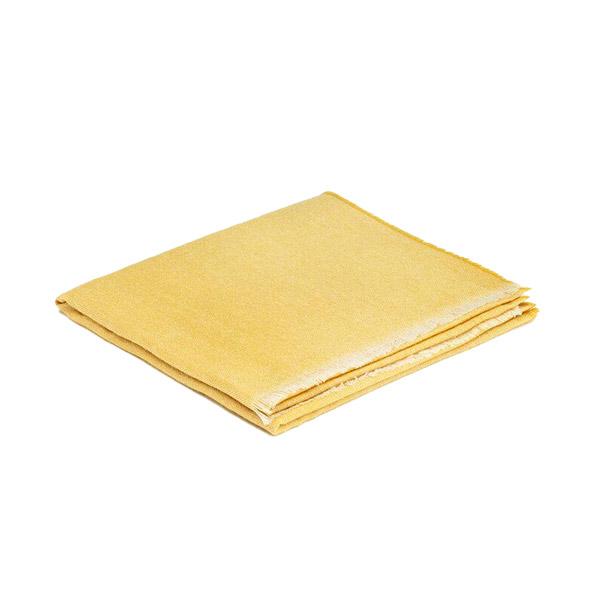 Yellow Lemon Paris Cashmere and Merino Wool Lightweight Scarf