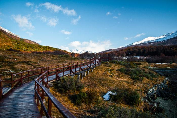 Trekking no Parque Nacional Tierra del Fuego