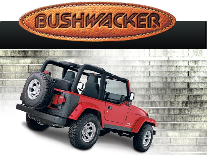bushwacker jeep