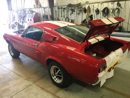 1967 Shelby Mustang   Restoration   Exterior