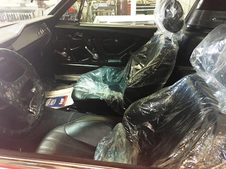 1967 Shelby Mustang   Restoration   Interior
