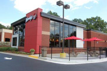 Wendy's Restaurant Redesign Exterior