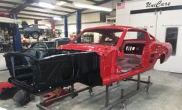 1967 Mustang Fastback Painted Red