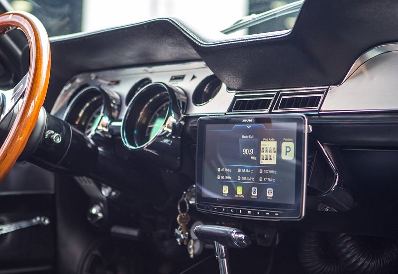 1967 Mustang Shelby Clone Stereo System