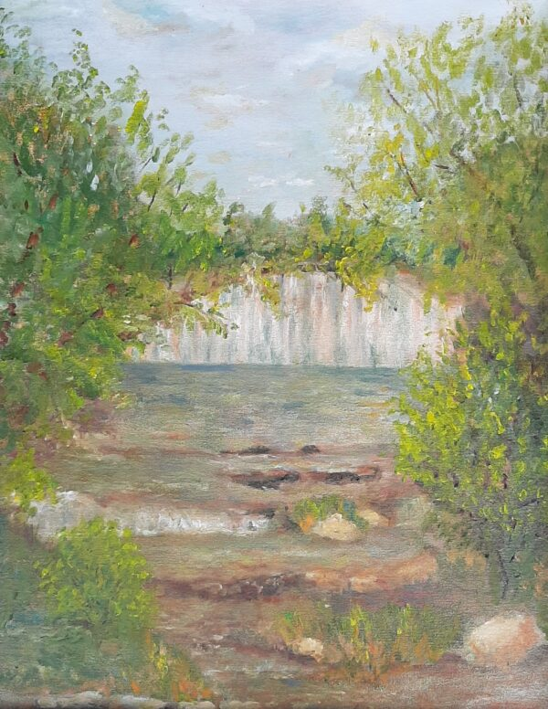 Waterfall Cedarburg WI