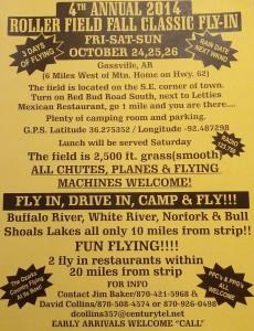 Gassville Ark Fly IN