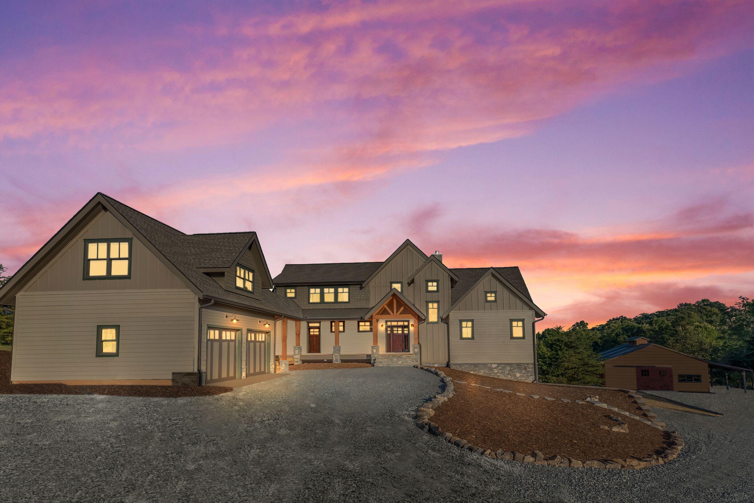 Tryon Builders Oak Grove home exterior 1