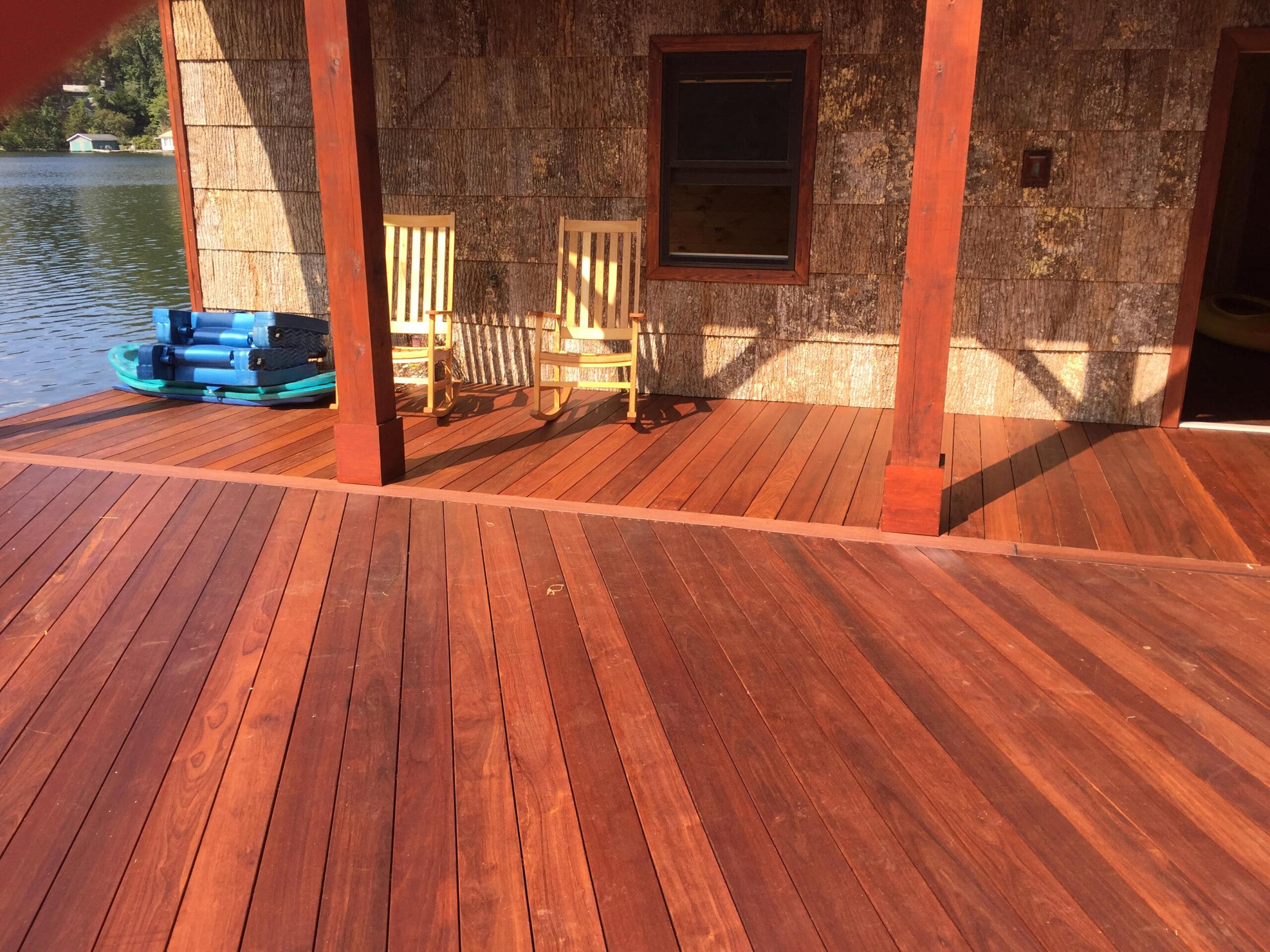Tryon Builders Lake Lanier boathome deck 2