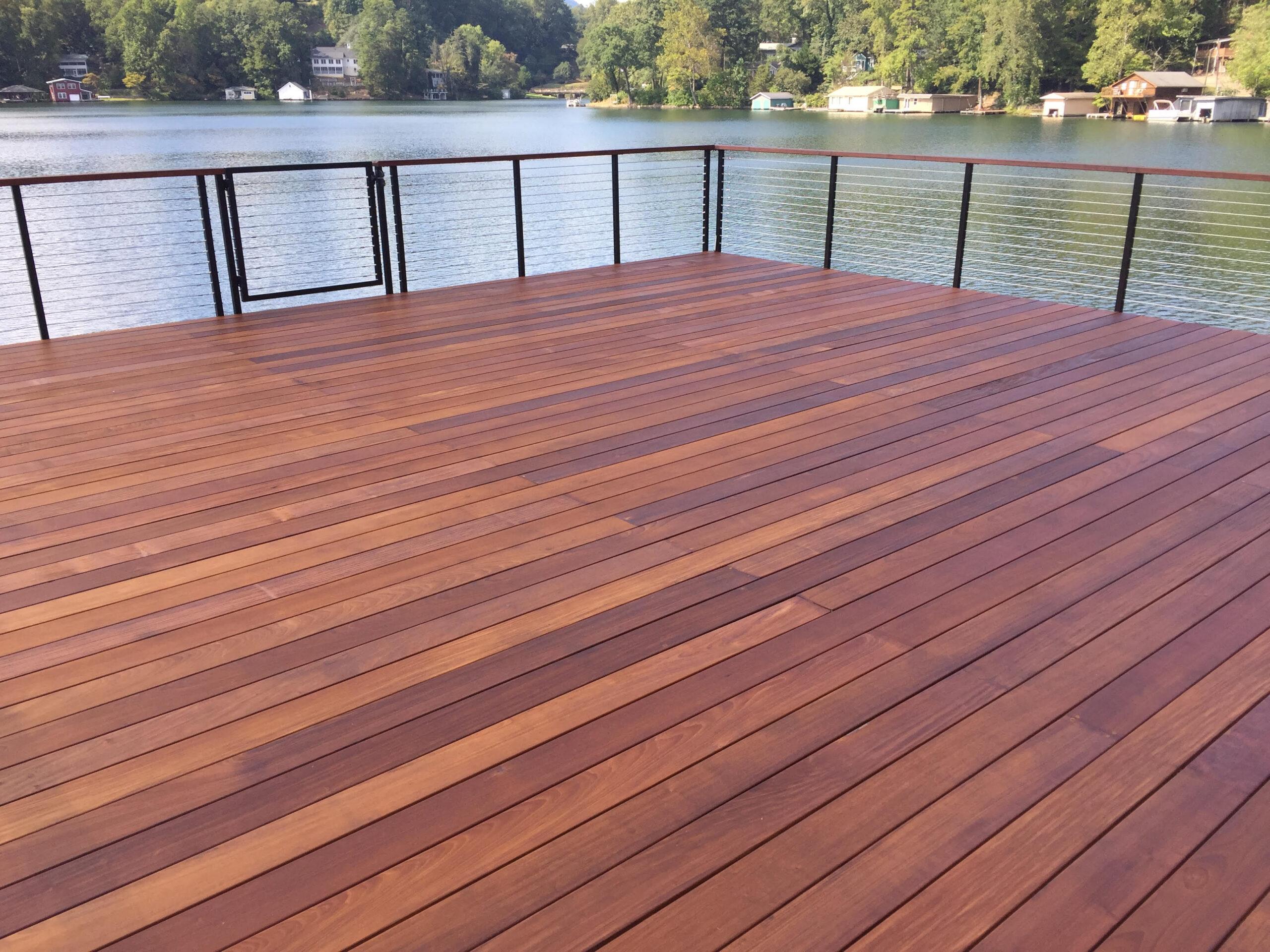 Tryon Builders Lake Lanier boathome deck 1