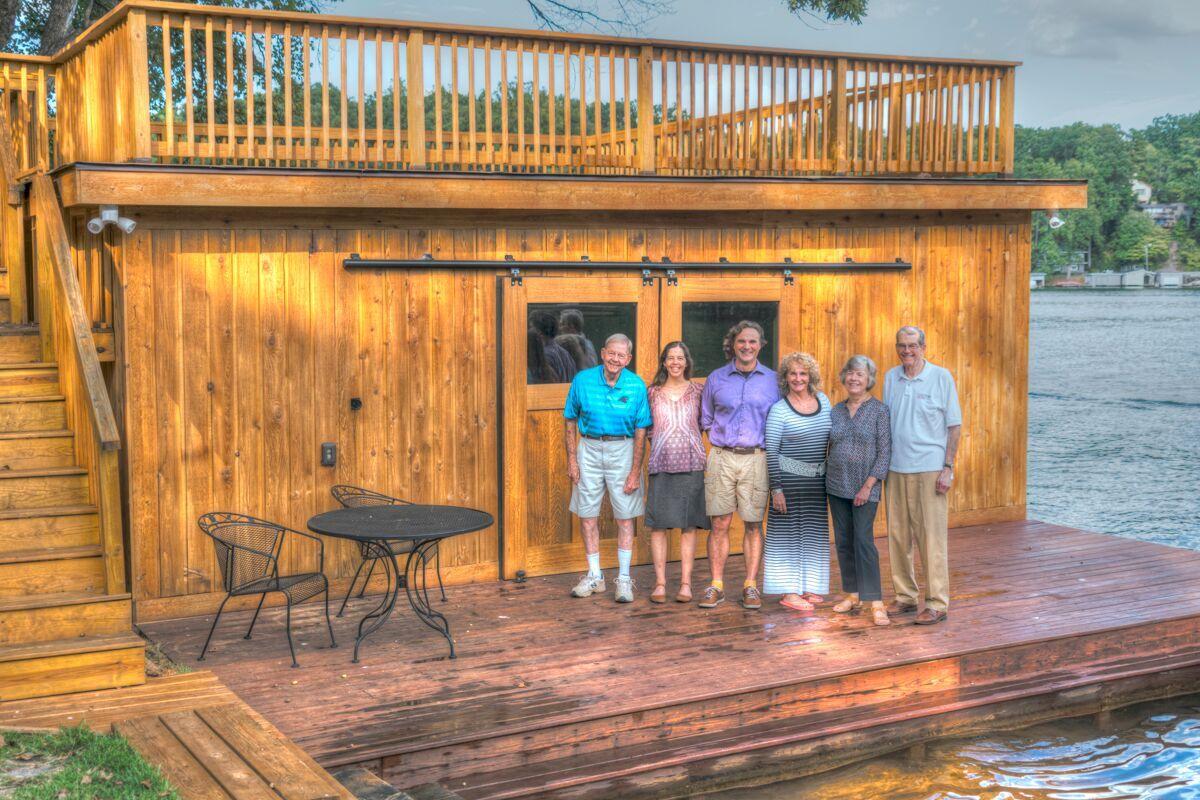 Tryon Builders custom boathouse 21