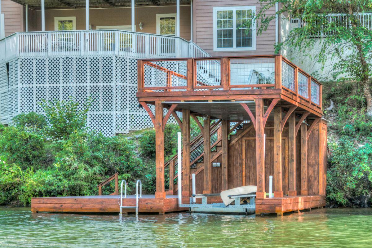Tryon Builders custom boathouse 18