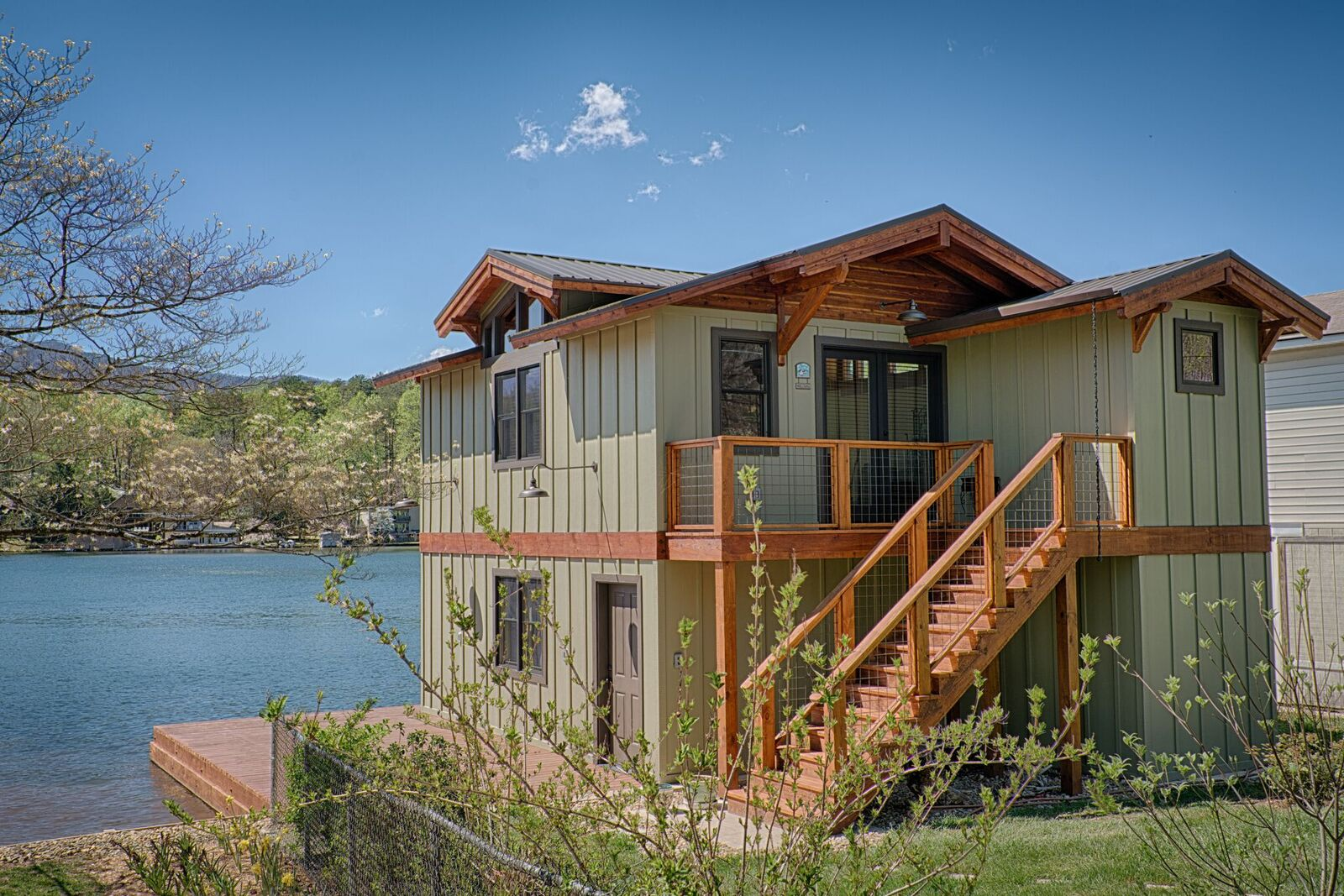 Tryon Builders custom boathouse 16