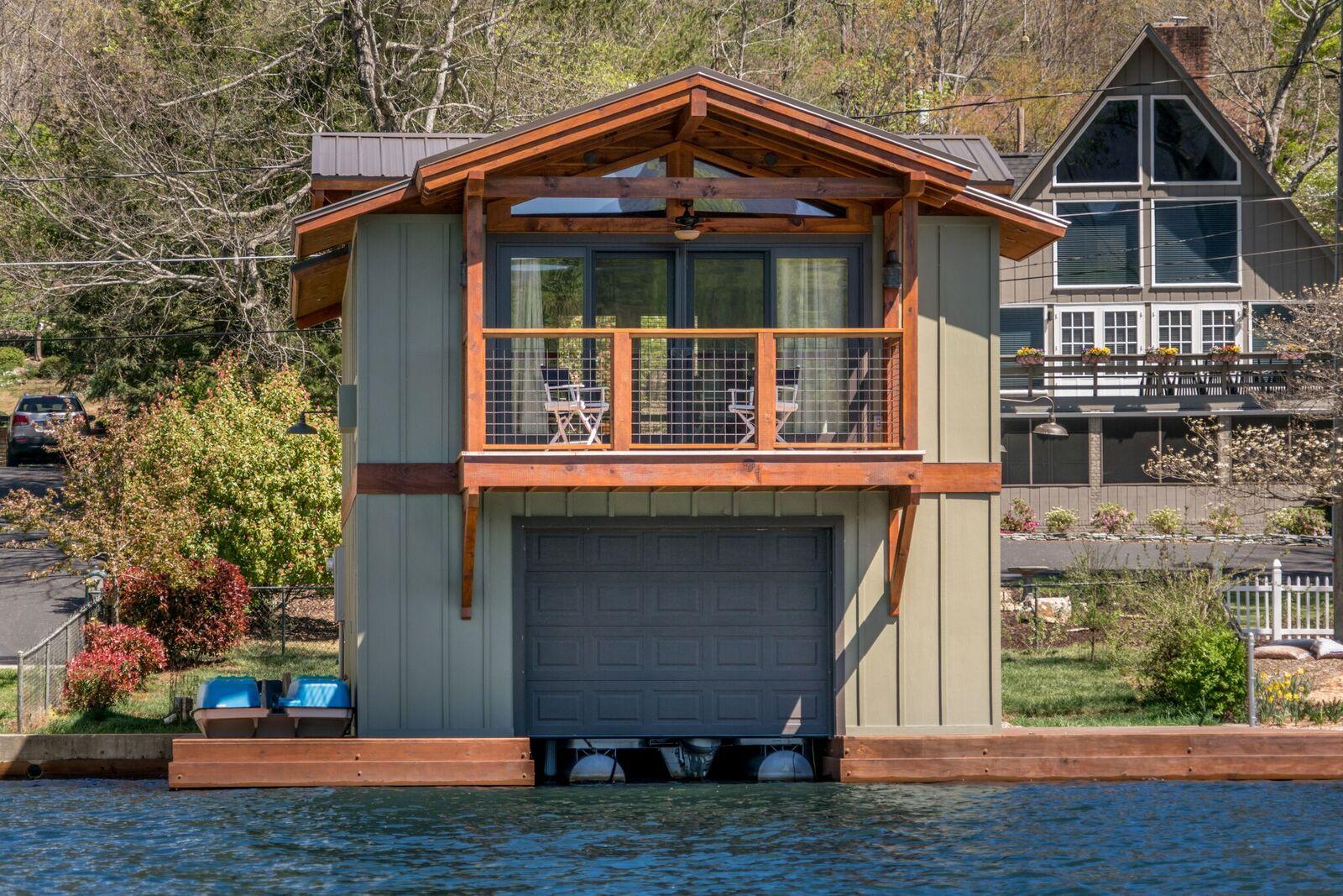 Tryon Builders custom boathouse 10