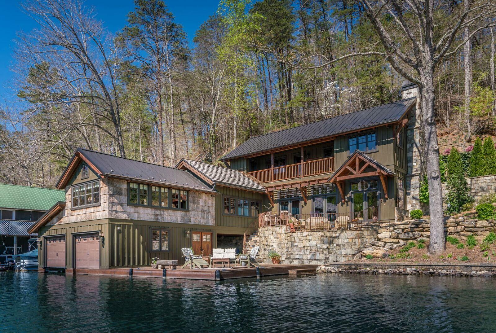 Tryon Builders Custom Lake Home 2