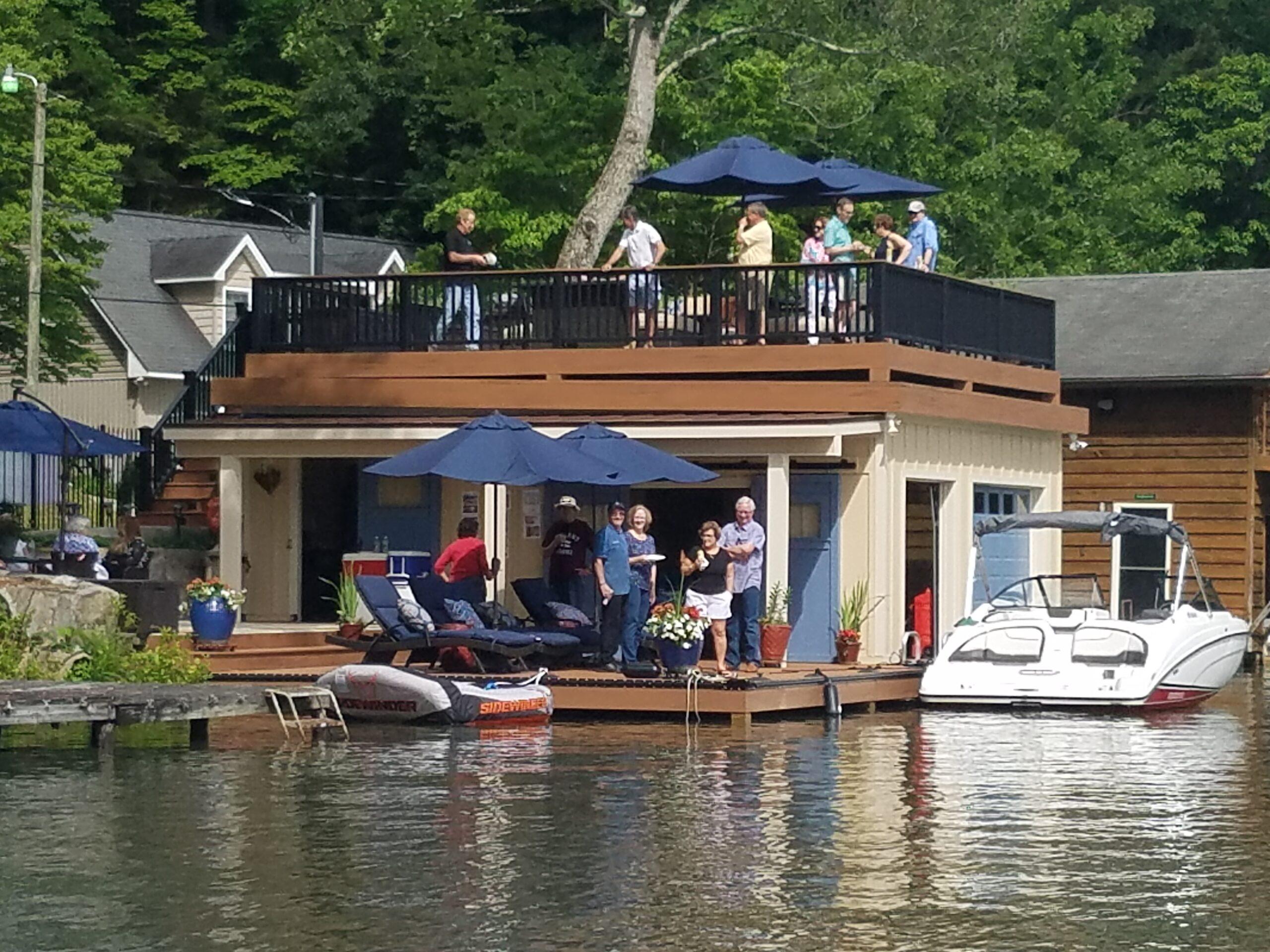 Tryon Builders custom boathouse 6