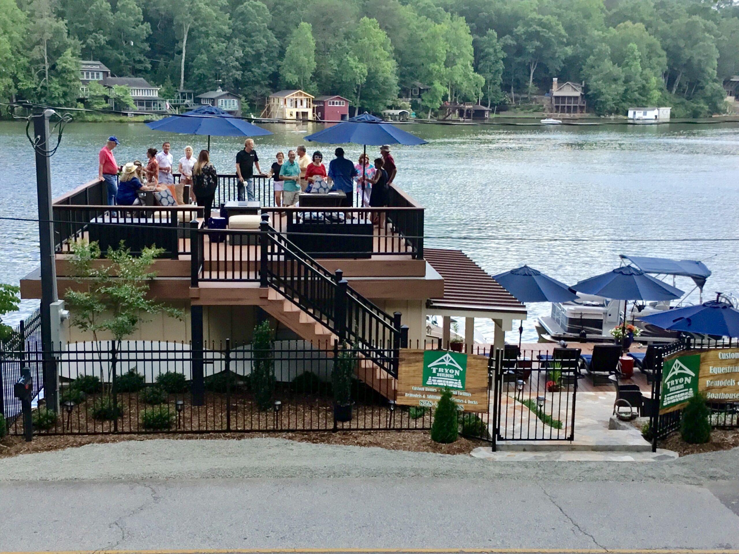 Tryon Builders custom boathouse 5