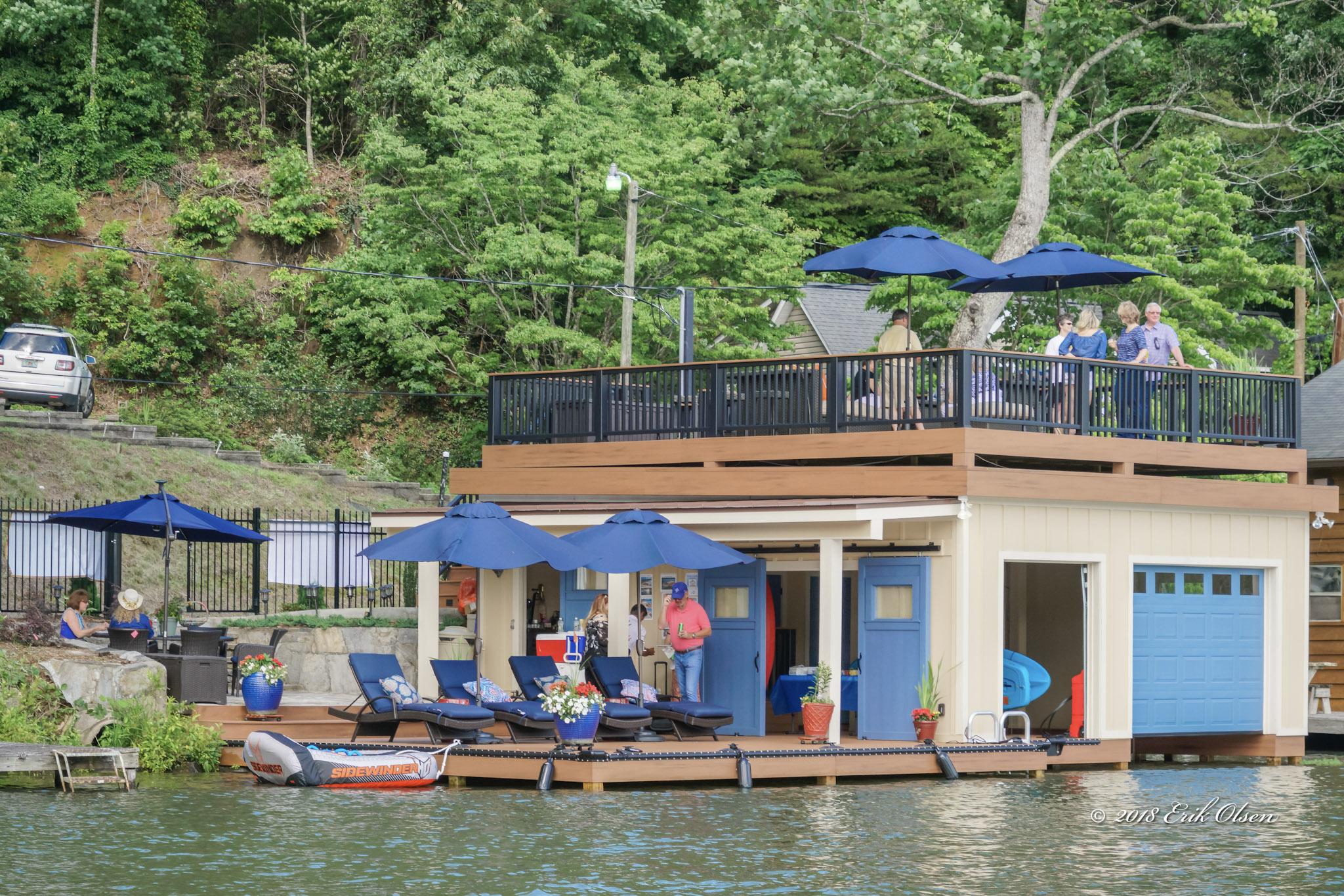 Tryon Builders custom boathouse 2