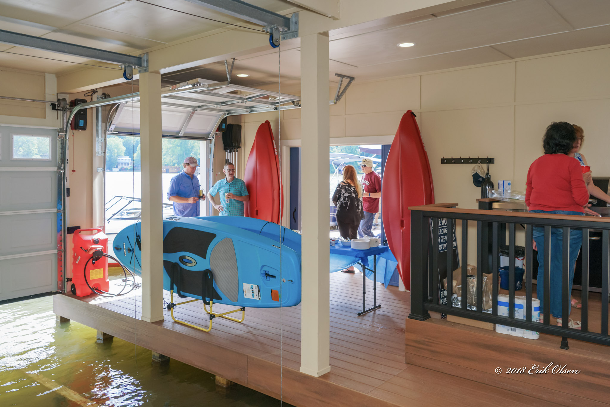 Tryon Builders custom boathouse 1
