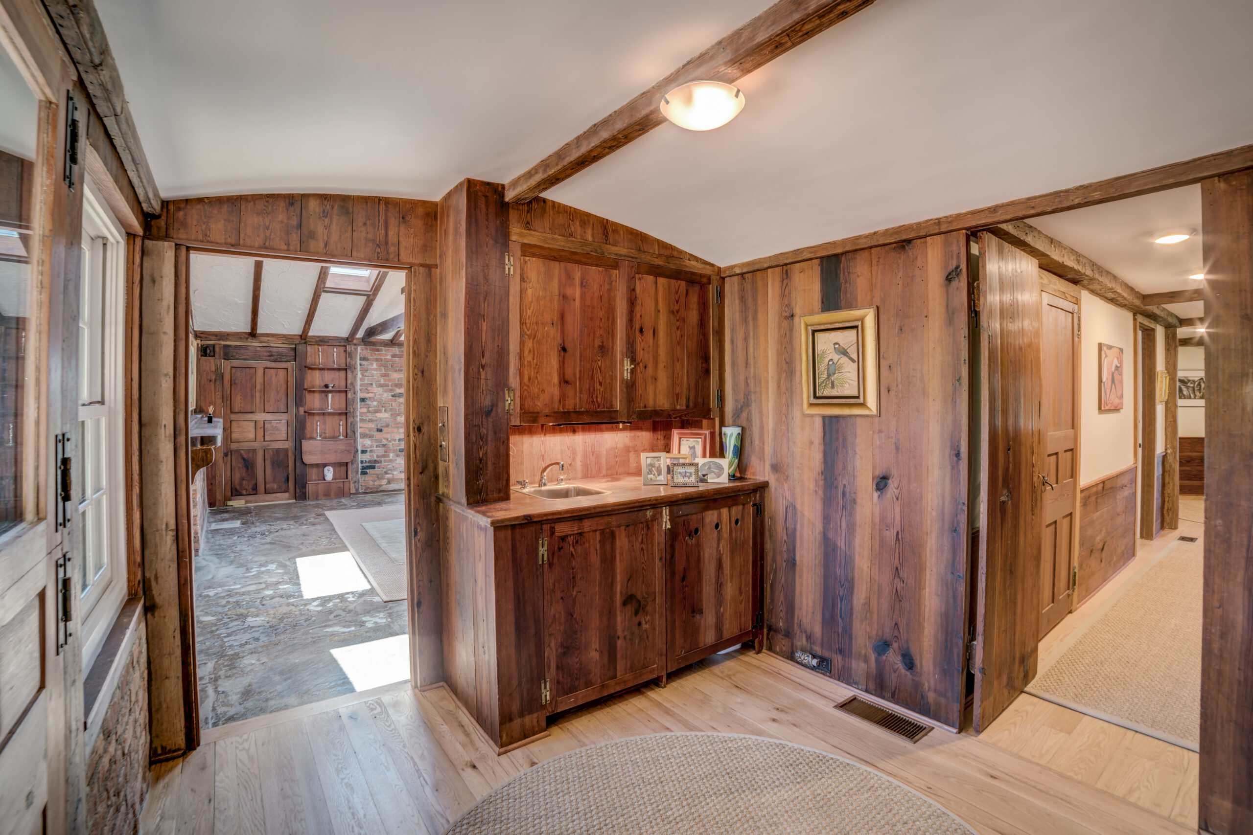 Tryon Builders Historic Carter Brown home renovation interior 19