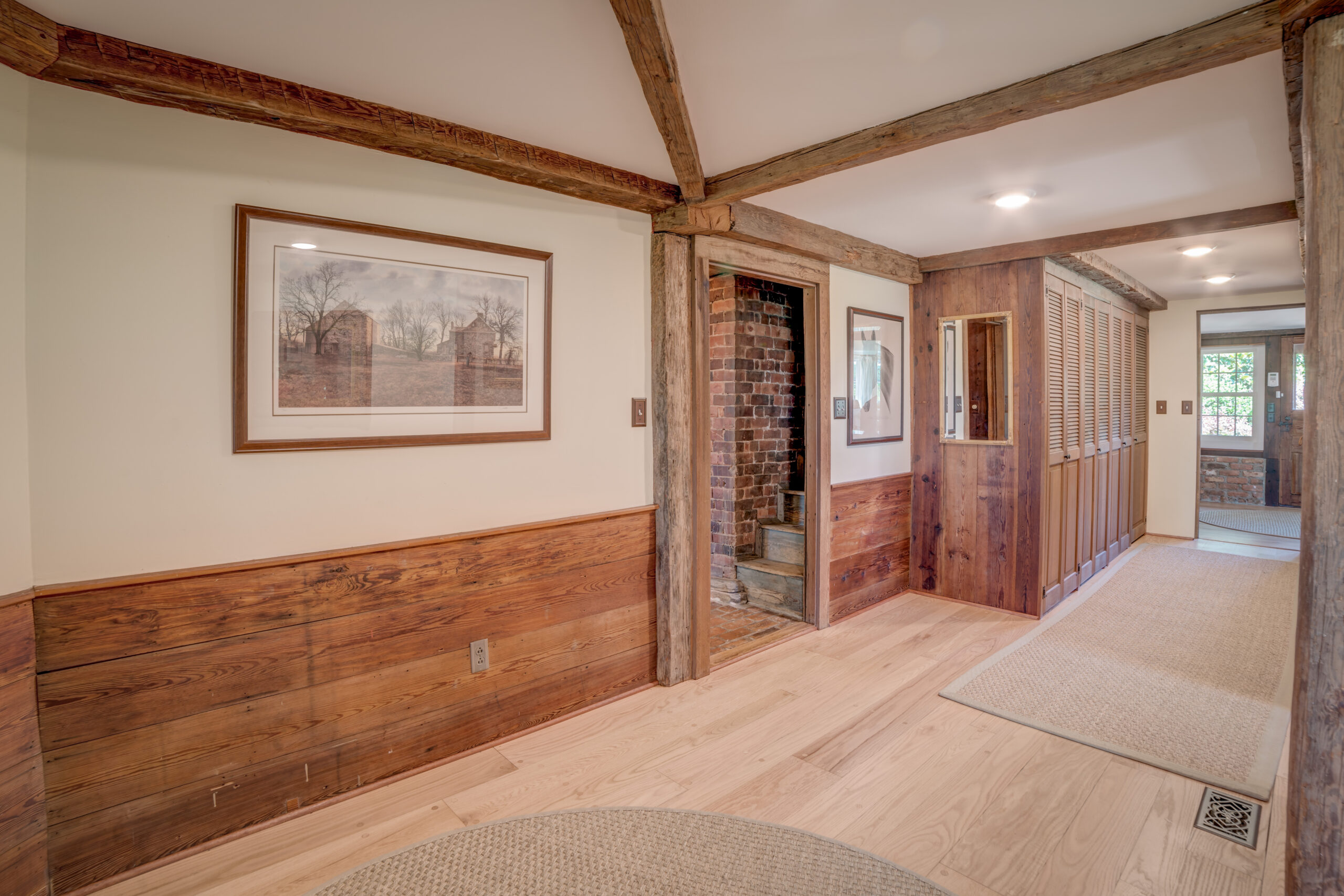Tryon Builders Historic Carter Brown home renovation interior 4