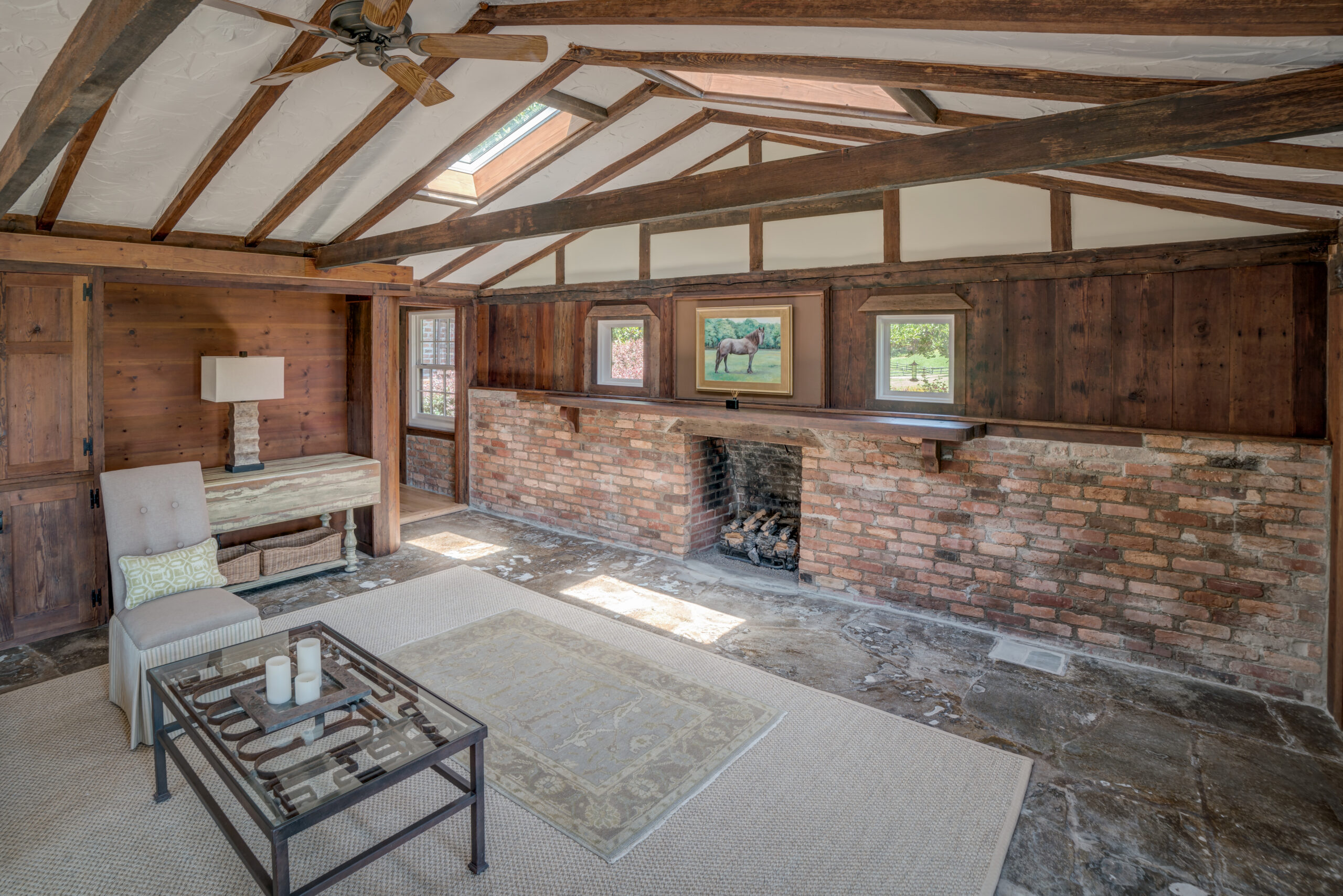Tryon Builders Historic Carter Brown home renovation interior 2