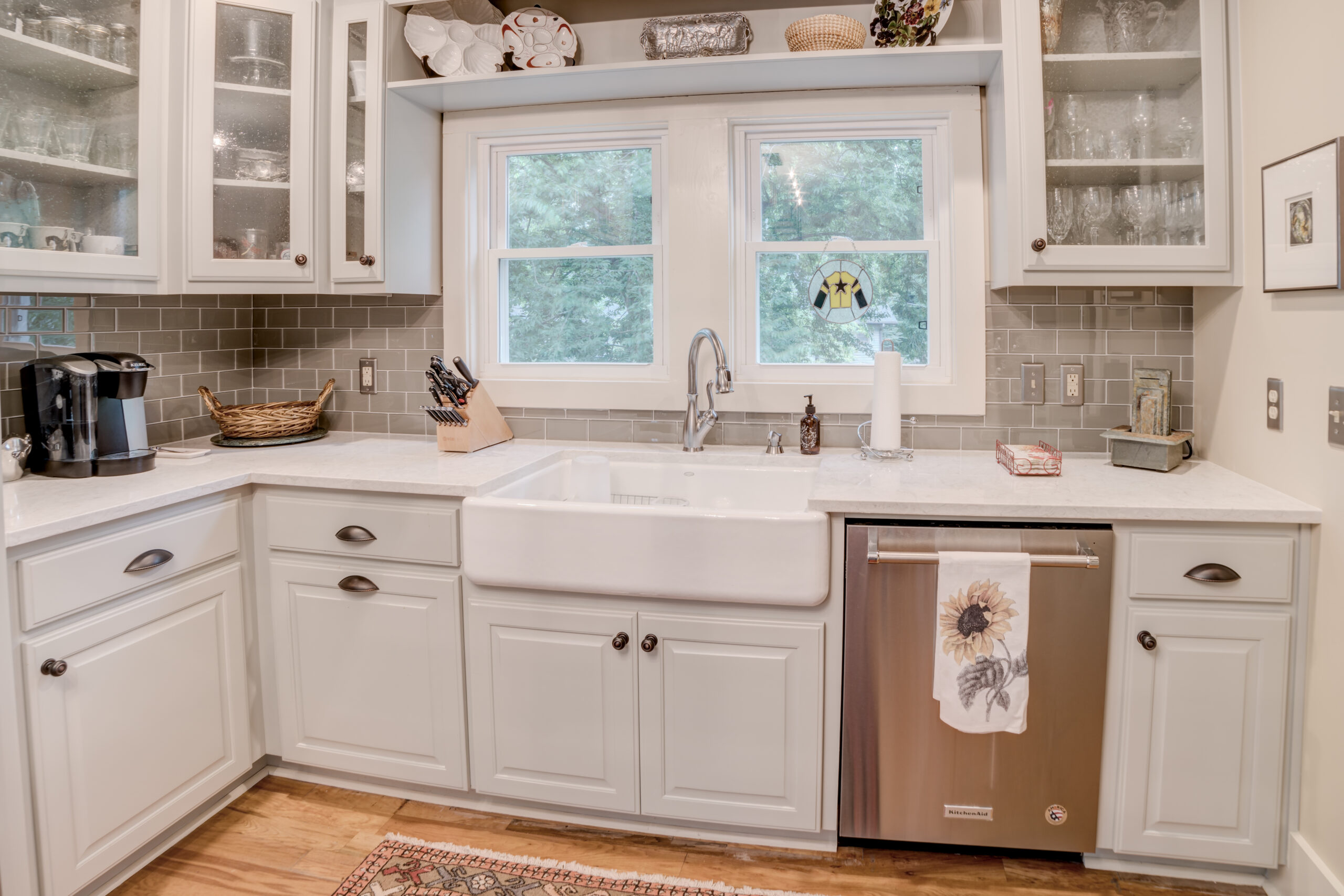 Tryon Builders Historic Carter Brown home renovation kitchen 3 1