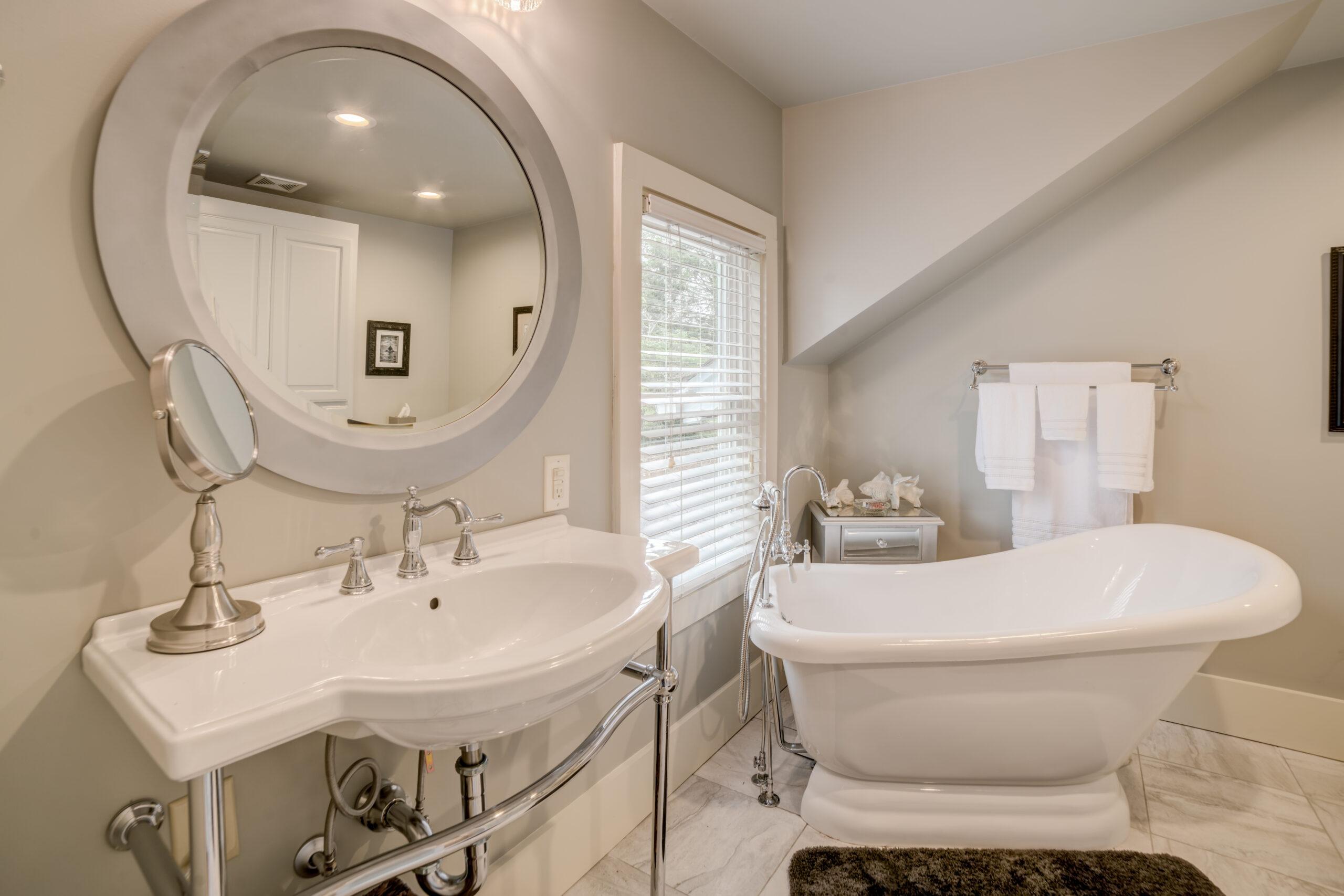 Tryon Builders Historic Carter Brown home renovation bathroom 3