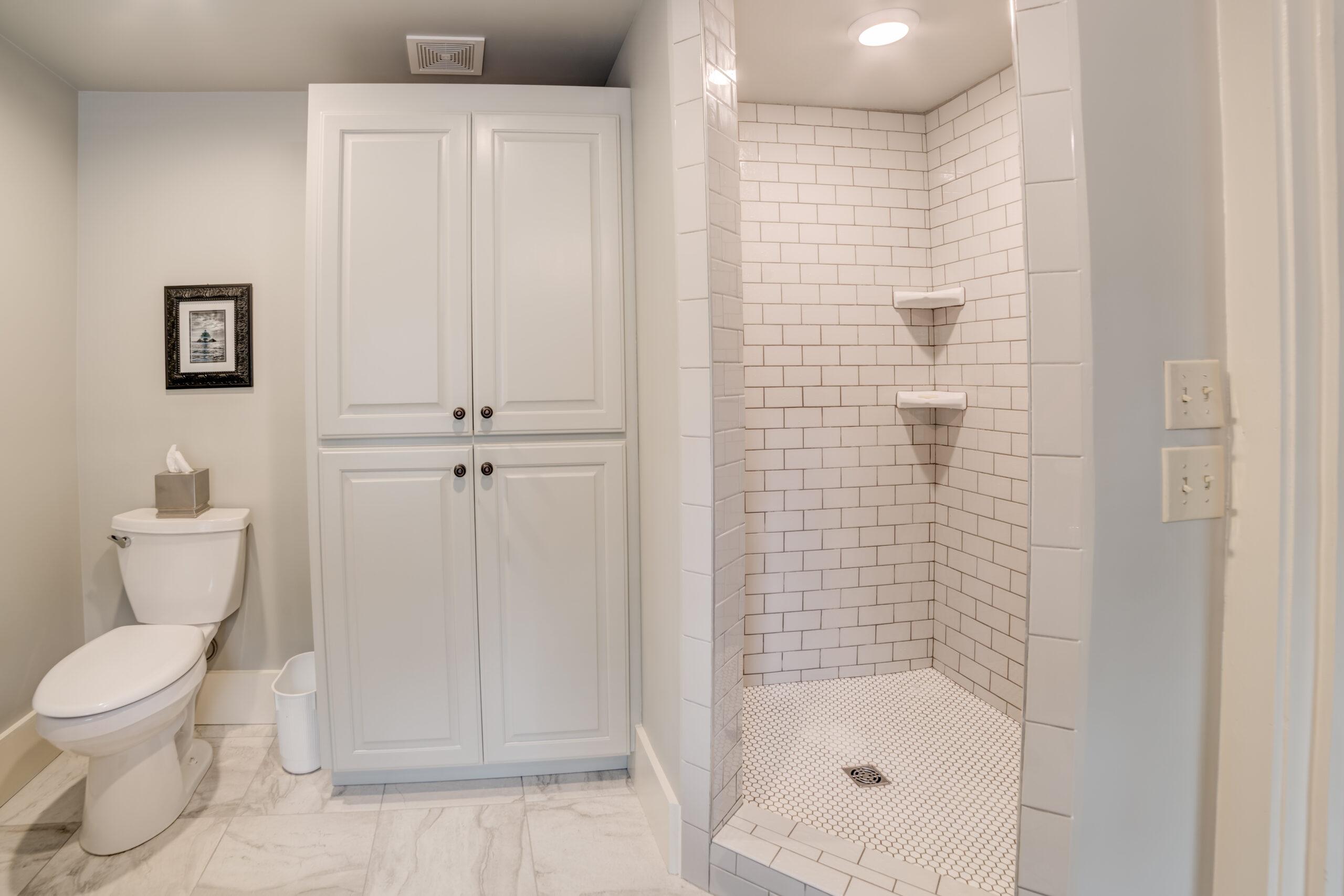 Tryon Builders Historic Carter Brown home renovation bathroom 2