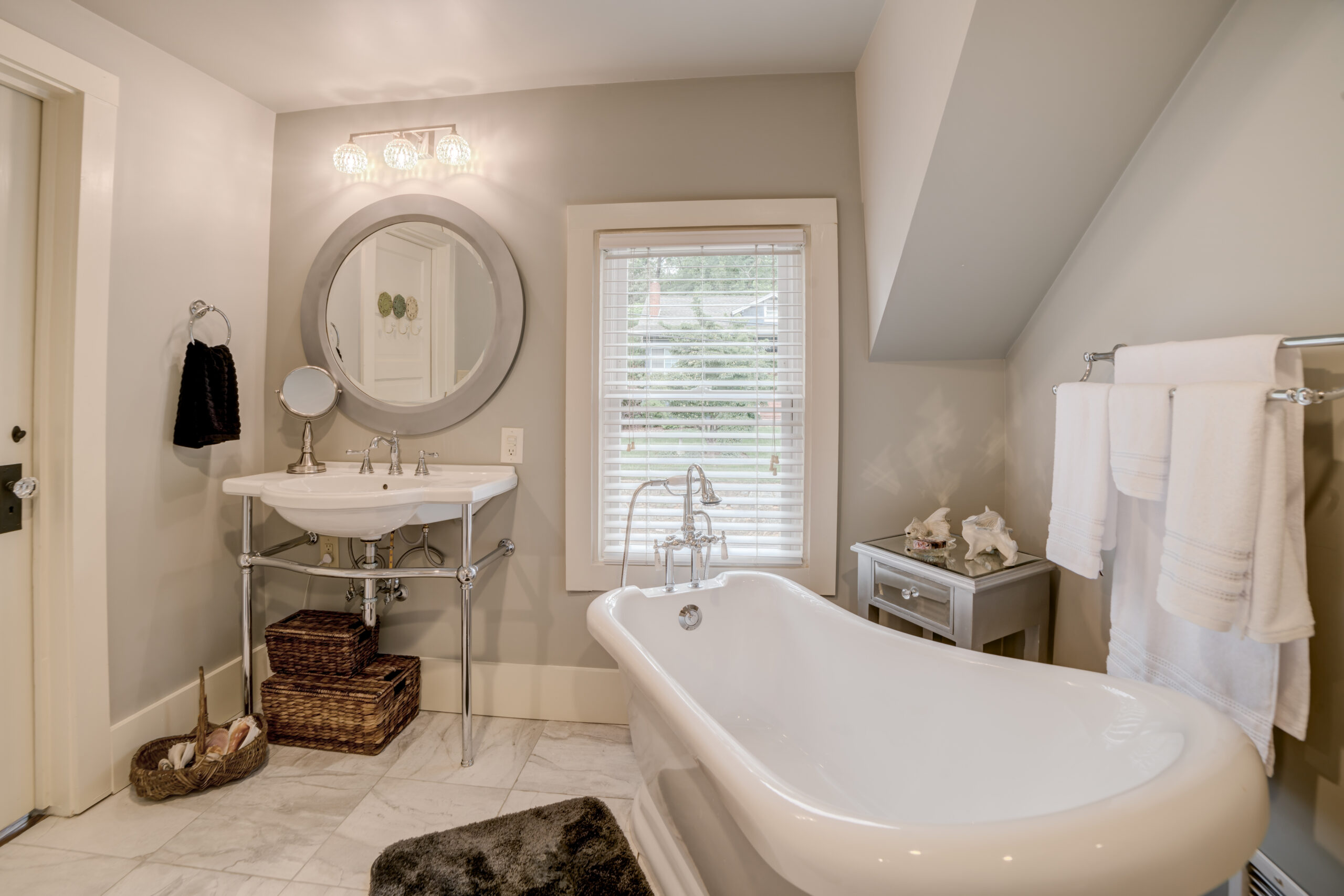 Tryon Builders Historic Carter Brown home renovation bathroom 1