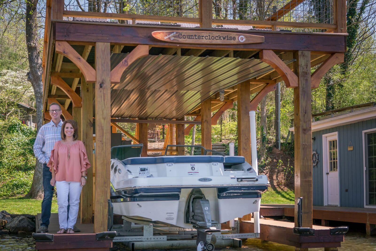 Tryon Builders custom boathouse 7