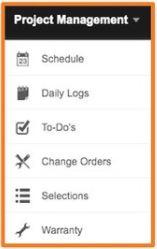 change order screen shot