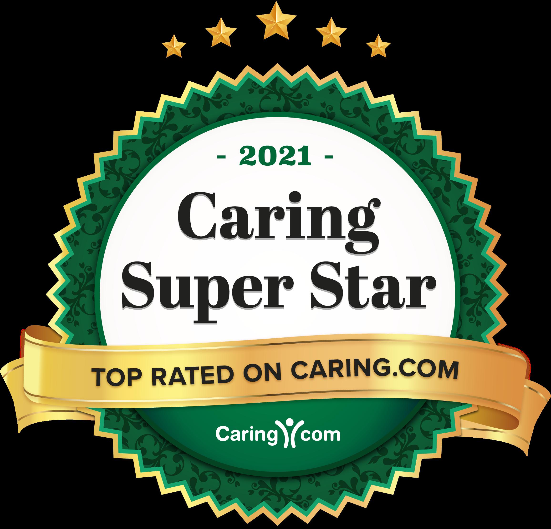 2021 caring super star