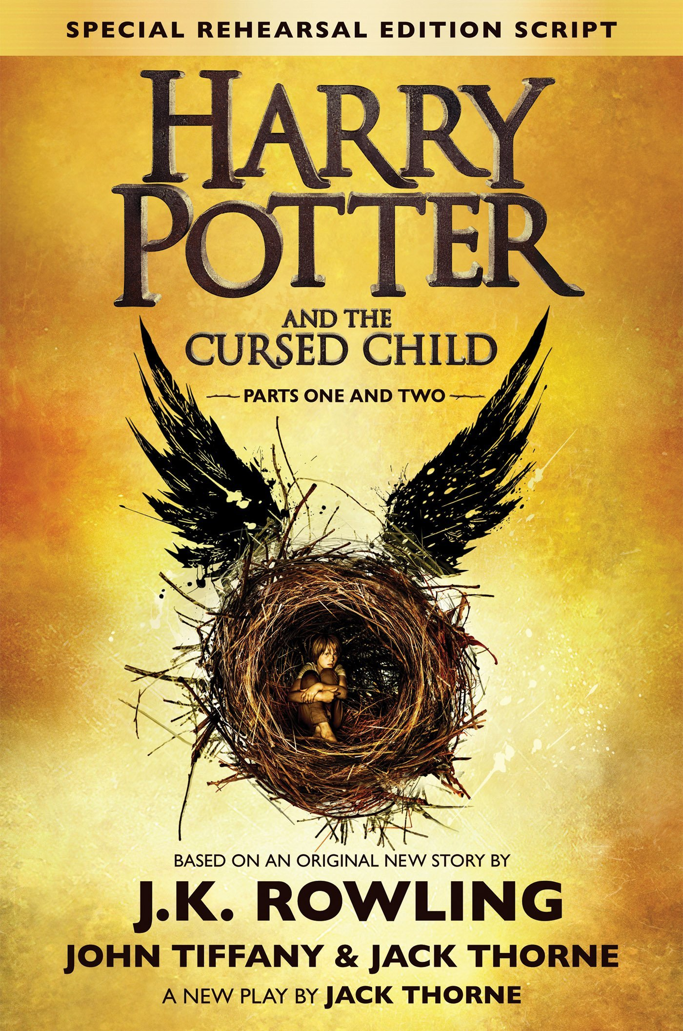 Harry Potter and the Cursed Child Book