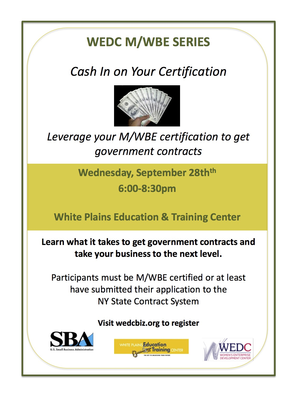 cashin-on-your-mwbe-certification