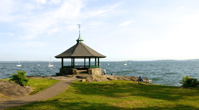 Larchmont Manor Park in Westchester feels like vacation.