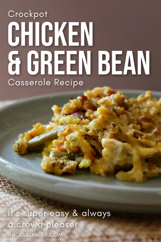 CROCK POT CHICKEN & GREEN BEAN CASSEROLE RECIPE (2)
