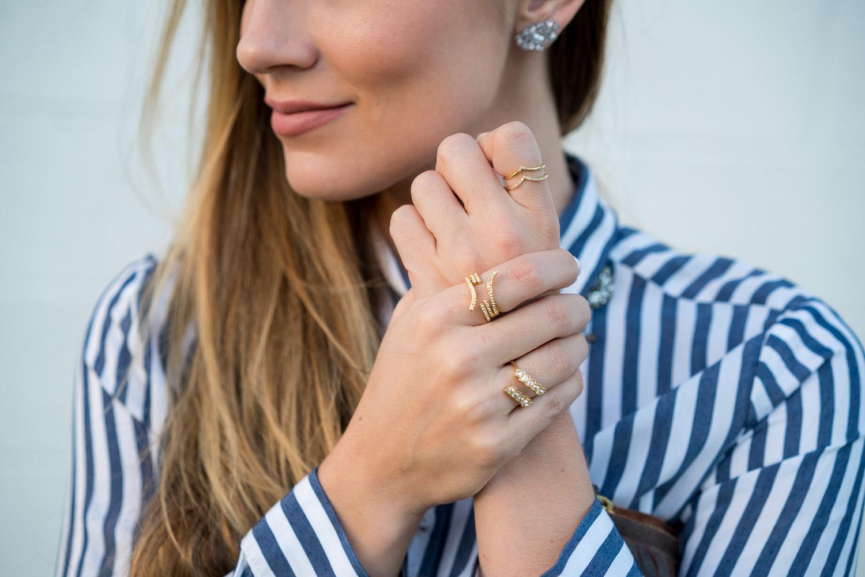 Baublebar gold rings