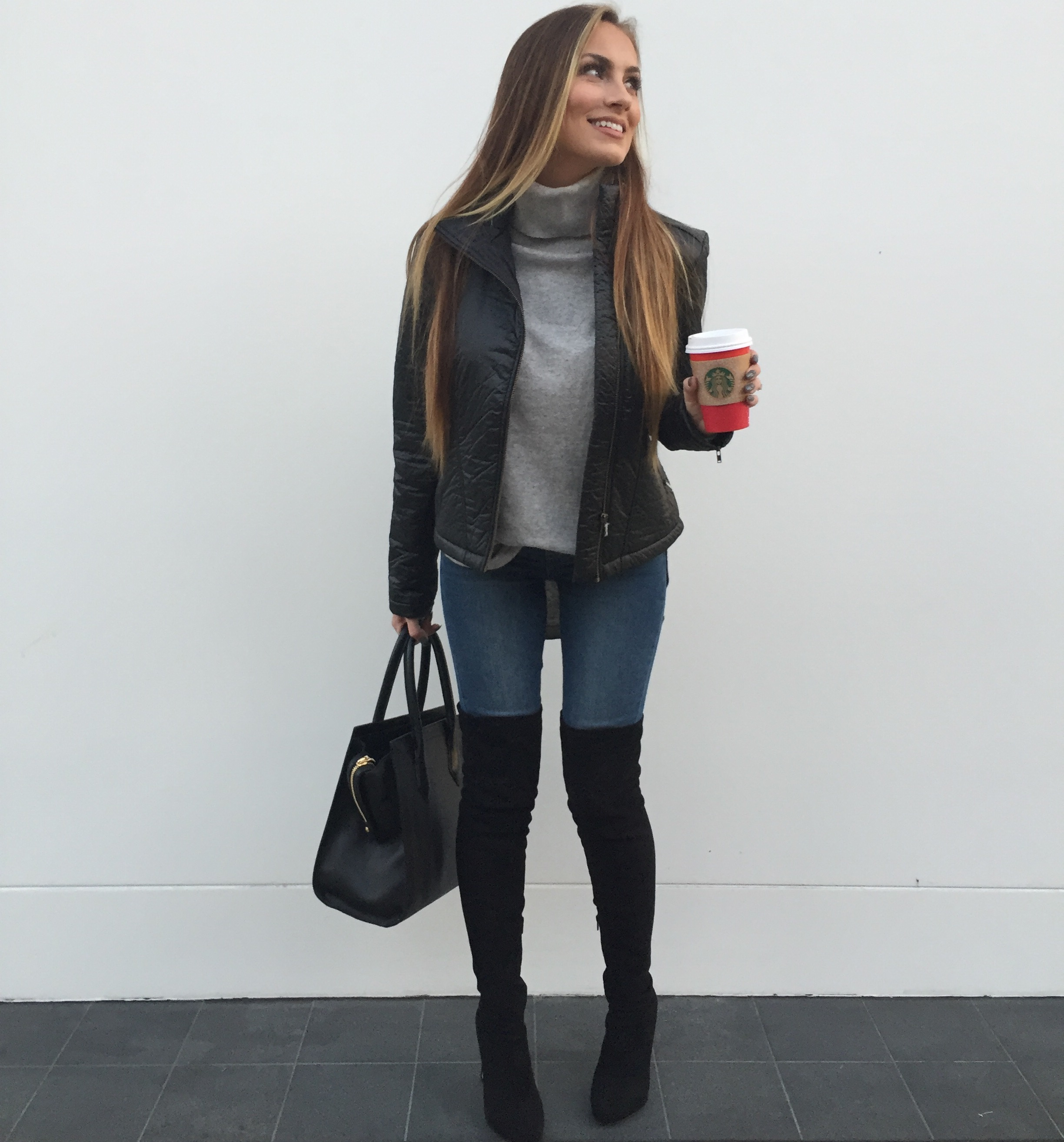 over the knee boots sweater fall outfit angela lanter hello gorgeous
